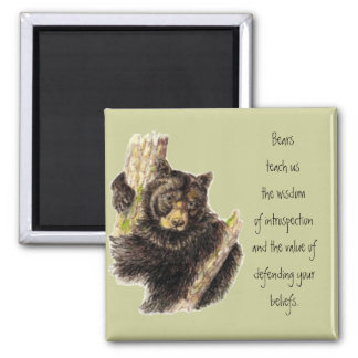 Animal Totem, Bears Nature, Spirit Guide Magnet