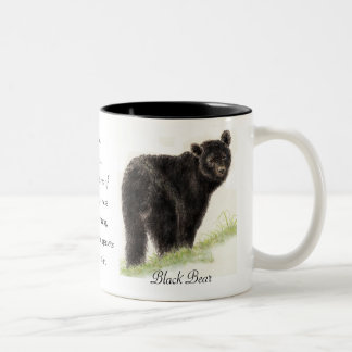 Animal Totem, Spiritual, Inspiration Encouragement Two-Tone Coffee Mug