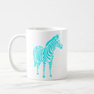 animal touch zebra Africa zoo kindermitive child Coffee Mug
