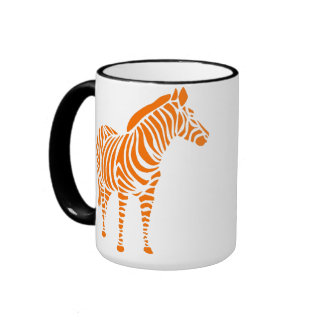 animal touch zebra Africa zoo kindermitive child Coffee Mugs