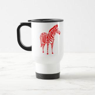 animal touch zebra Africa zoo kindermitive child Travel Mug