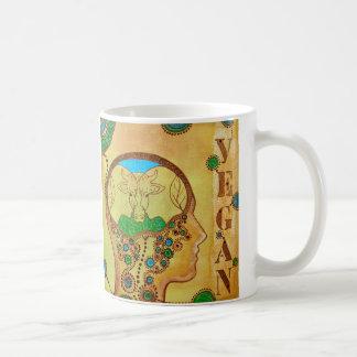 Animal Vegan human Mug