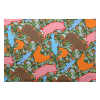 Animal & Vegetable Placemats