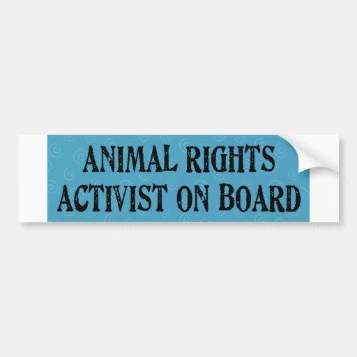 animalactivist bumper stickers