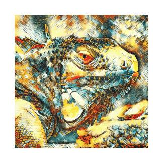 AnimalArt_Iguana_20170901_by_JAMColors Canvas Print