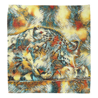 AnimalArt_Leopard_20170605_by_JAMColors Kerchiefs