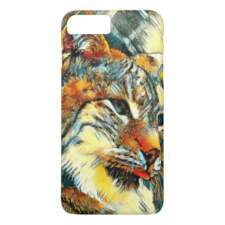AnimalArt_Lynx_20170601_by_JAMColors iPhone 8 Plus/7 Plus Case