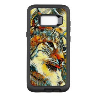 AnimalArt_Lynx_20170601_by_JAMColors OtterBox Defender Samsung Galaxy S8+ Case