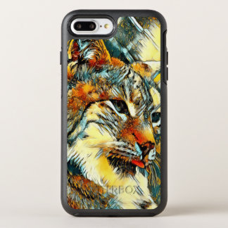 AnimalArt_Lynx_20170601_by_JAMColors OtterBox Symmetry iPhone 8 Plus/7 Plus Case