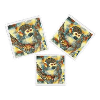 AnimalArt_Monkey_20170601_by_JAMColors Acrylic Tray