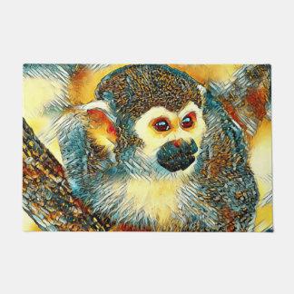 AnimalArt_Monkey_20170601_by_JAMColors Doormat