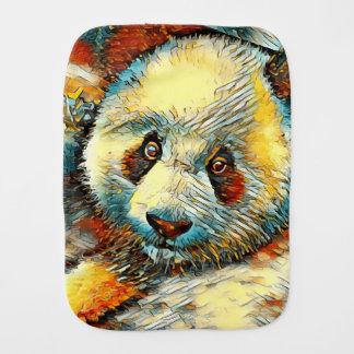 AnimalArt_Panda_20170601_by_JAMColors Burp Cloth