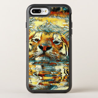 AnimalArt_Tiger_20170601_by_JAMColors OtterBox Symmetry iPhone 8 Plus/7 Plus Case