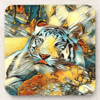 AnimalArt_Tiger_20170603_by_JAMColors Coaster