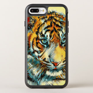 AnimalArt_Tiger_20170611_by_JAMColors OtterBox Symmetry iPhone 8 Plus/7 Plus Case