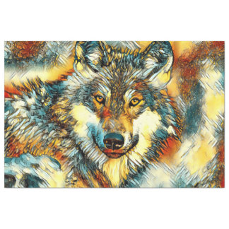 AnimalArt_Wolf_20170601_by_JAMColors Tissue Paper