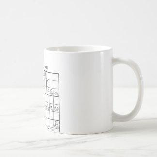 animaldoku aquatic classic white coffee mug