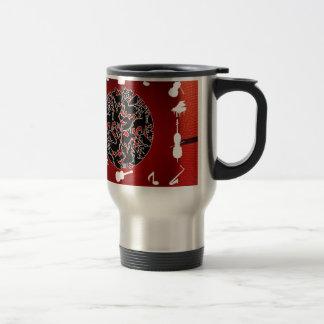 ANIMALIA MUSIC BACK CUSTOMIZABLE PRODUCTS COFFEE MUG