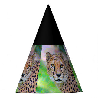 AnimalPaint_Cheetah_20171201_by_JAMColors Party Hat