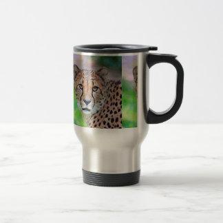AnimalPaint_Cheetah_20171201_by_JAMColors Travel Mug