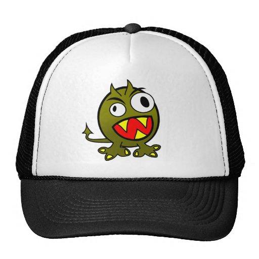 animals-34050  animals baby monkey mad green icon trucker hat