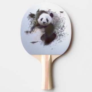 Animals and Art Ping Pong Paddle