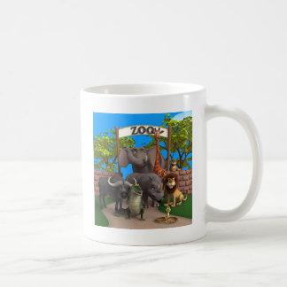 Animals at the Zoo Coffee Mug