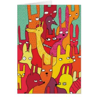 Animals Card