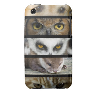 Animals Eyes iPhone 3 Case-Mate Case
