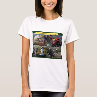 Animals from the Galapagos islands T-Shirt