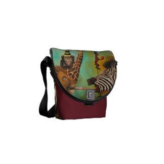 Animals Gone Wild Commuter Bag