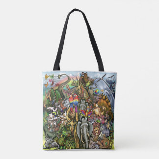 Animals Great and Small Tote Bag