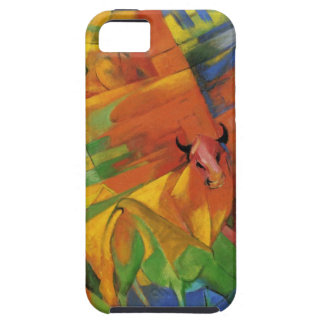Animals in a Landscape by Franz Marc iPhone 5 Cover