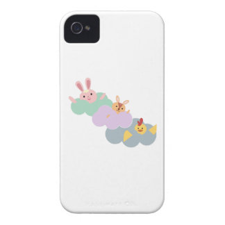 Animals In Clouds iPhone 4 Case-Mate Cases