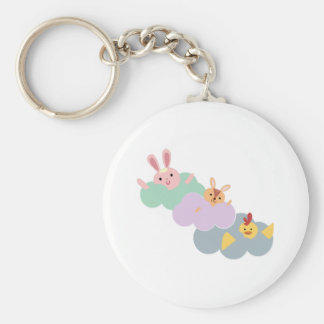Animals In Clouds Key Chains