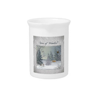 Animals in the Winter Forest, Tree with Star, Star Pitcher