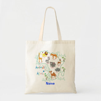 Animals of Africa Tote Bag