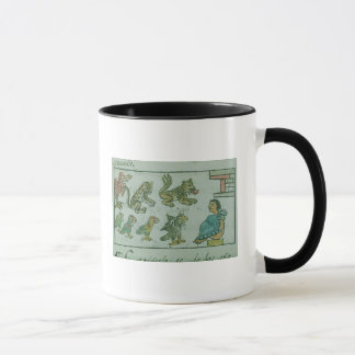 Animals of the Aztec Emperor Mug
