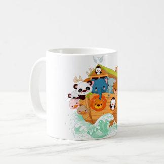 Animals On Noahs Art Mug