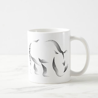 Animals - Rhino Coffee Mug