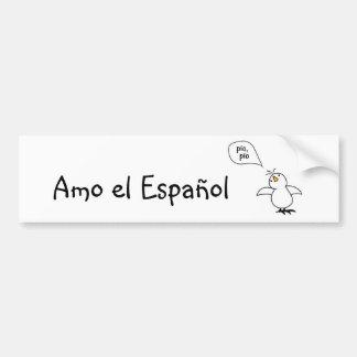 Animals Speak Spanish Too! Merchandise Bumper Sticker