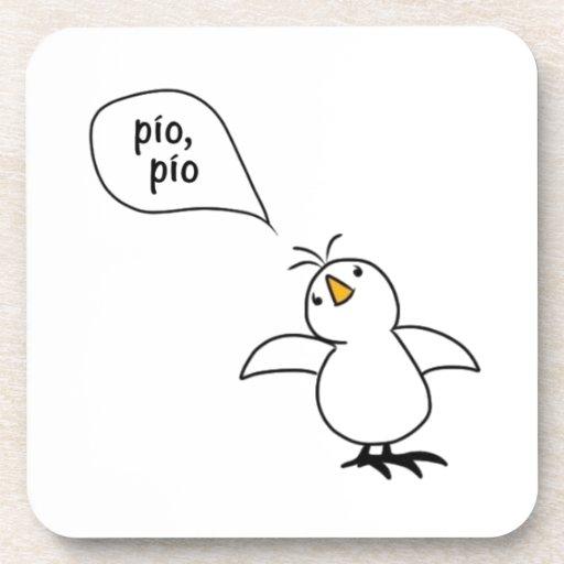 Animals Speak Spanish Too! Merchandise Coasters