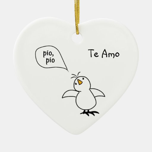 Animals Speak Spanish Too! Merchandise Christmas Ornament