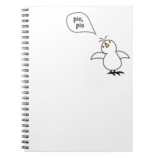 Animals Speak Spanish Too! Merchandise Spiral Notebook