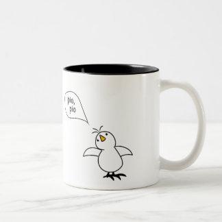 Animals Speak Spanish Too! Merchandise Two-Tone Mug