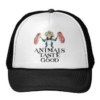 Animals Taste Good Cap