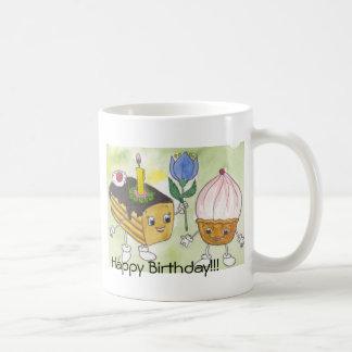 Animated Cakes, Happy Birthday!!! Coffee Mug