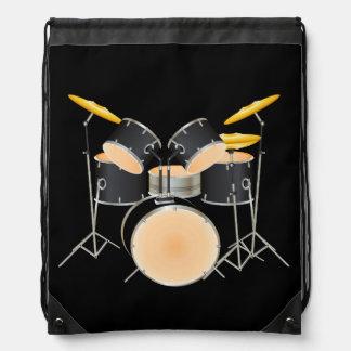 Animated drum set rucksack