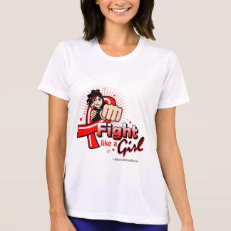 Animated Fight Like A Girl Heart Disease Tshirts