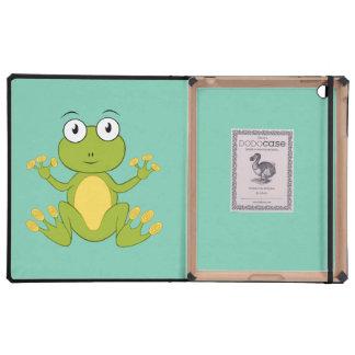 animated frog iPad covers